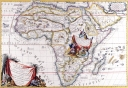 Antique Maps of the WorldMap of AfricaVincenzo Coronellic 1692