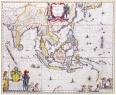 Antique Maps of the WorldMap of South East AsiaWillem Blaeuc 1650