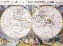 Antique Maps of the WorldMap of the WorldEdward Wellsc 1700