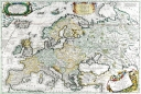 Antique Maps of the WorldMap of EuropeVincenzo Coronellic 1690