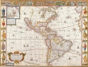 Antique Maps of the WorldThe AmericasJohn Speedc 1676