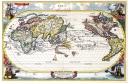 Antique Maps of the WorldMap of the WorldHeinrich Schererc 1700
