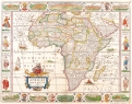 Antique Maps of the WorldMap of AfricaNicolas Visscherc 1658
