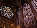 The Upper Chapel of Sainte Chapelle, Ile de la Cite, Paris, France